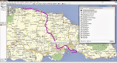 Map, Maps, Garmin, GPS, Jamaica, Montego Bay, Kingston