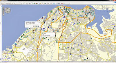 Garmin, TomTom, GPS, Map, Cuba, Havana, La Habana