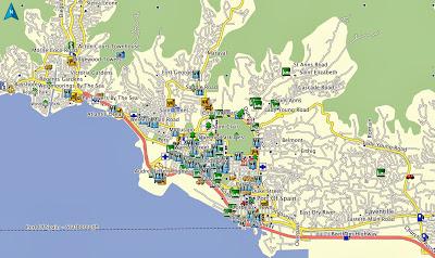 Map, GPS, Garmin, Trinidad, Tobago, POI, Hotels, Hotel, Car Rental