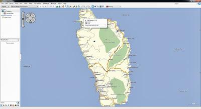 GPS, Dominica, Map, Caribbean, Mapa, Carte, Garmin, TomTom